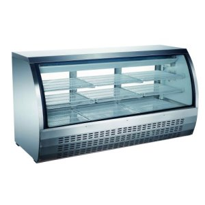 Omcan Refrigerated Showcase Stainless 903 L/32 CuFt 115V/60/1 Cetlus/Etl (50080)