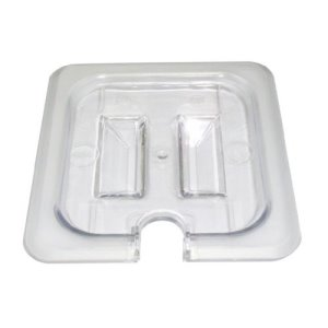 Omcan Products Polycarbonate 1/3 Cover for Food Pan, Slotted, Each (80024)