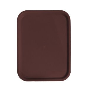"Omcan Products Fast Food Tray, 12"" X 16"", Brown, Each (80093)"