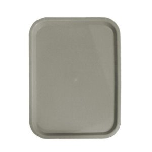 "Omcan Products Polypropylene Fast Food Tray, 12"" X 16"", Grey, Each (80094)"