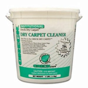Oreck Commercial Dry Carpet Cleaner, 9-lb. Pail (ORK-37119)