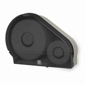 Palmer Single Jumbo Jr. Toilet Paper Dispenser with Stub, Black (PFO-RD0024-02F)