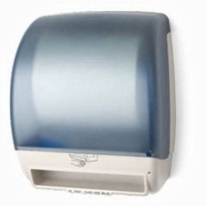 Electra Automatic Touchfree Roll Towel Dispenser, Translucent Ice Blue (PFO-TD0245-ICE)