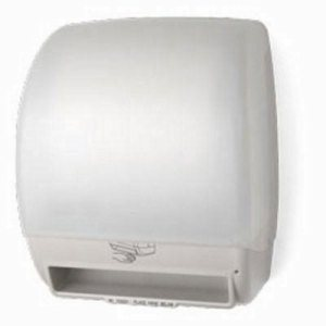 Electra Automatic Touch-Free Paper Roll Towel Dispenser, White (PFO-TD0245-03P)