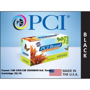 PCI Brand Canon 128 CRG128 3500B001AA Toner Cartridge 2.1K Yield (3500B001AA-PC)