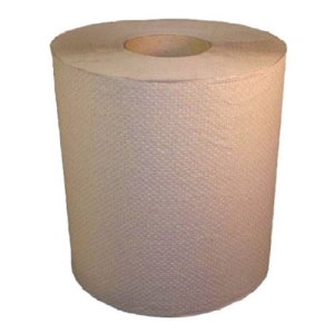 Nova 350' Natural Hard Roll Paper Towels, 12 Rolls (NOVA-350N)