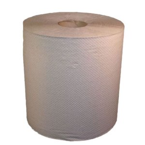 Nova Natural 800' Hard Roll Paper Towels, 6 Rolls (NOVA-800N)