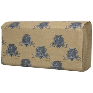Empress Singlefold Paper Towels, Natural, 4000 Towels (HT-400031)