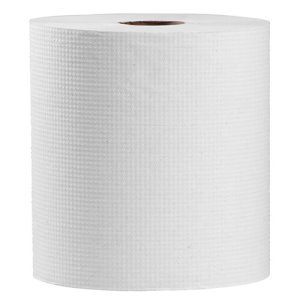 Simple Earth 1-Ply Hard Roll Paper Towels, 800', Natural, 6 Rolls (S1286)