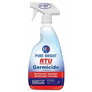 Pure Bright 32 oz All Purpose Germicidal Cleaner w/Bleach, Each (KIK8591EA)