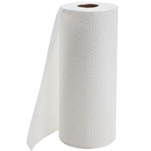 Select 2 Ply Household Paper Towels, 8 x 11, White, 85/Roll, 30 Rolls (PC3085)