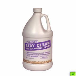 Clausen Stay Clean Soil Resistant Cleaner - Gal., 4/cs, (SHR-BULSTC)