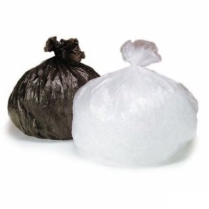 15 Gallon Clear Trash Bags, 24x32, 0.7mil, 500 Bags (SHR-CG243210C)