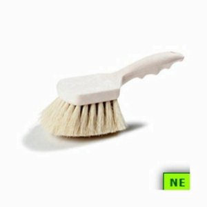 "Carlisle White Tampico Utility Brush - 8"" (SHR-CAR3621920800)"