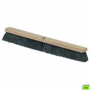 "Carlisle Black Tampico Floor Sweep - 36"", 6/cs, (SHR-CAR3621923603)"