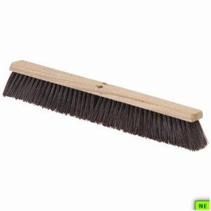 "Carlisle Flo-Pac Coarse/Heavy Floor Sweep - 36"", Maroon, 6/cs, Maroon, (SHR-CAR4520401)"