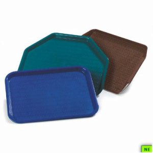 "Carlisle CafT Standard Tray - 14"" x 10"", Dark Brown, 24/cs, Dark Brown, (SHR-CARCT101469)"