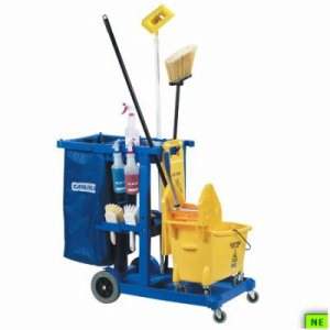 Carlisle Replacement Bag For Janitorial Cart - Blue, ea, Blue, (SHR-CARJC194614)