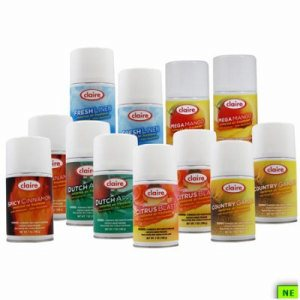 Claire Metered Air Variety Pack, 1/12/cs, (SHR-CLRCASST)