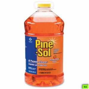 Orange Pine-Sol All-Purpose Cleaner - 144 oz., Orange, 3/cs, Orange Energy, (SHR-CLO41772)