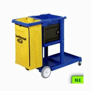 Continental Janitor Cart - Blue (SHR-CON174BL)