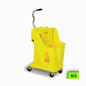 Mop Bucket Continental Unibody Mopping System (SHR-CON351BL)