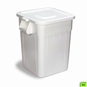 Continental Lid for 55 Gallon Huskee - Grey, 4/cs, Grey, (SHR-CON5001GY)
