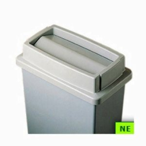 Wall Hugger Waste Receptacle Tip-Top Lid (SHR-CON7320BR)