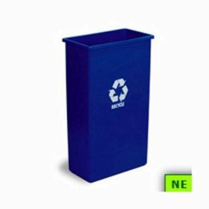23 Gallon Wall Hugger Recycling Container (SHR-CON83221)