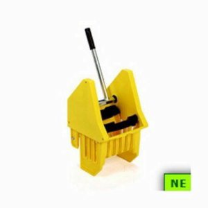 Continental Down-Press Wringer for 16 to 32 oz. Mops, Yellow (SHR-CONSW7YW)