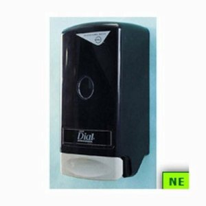 Dial Model 28 - Wall Mount For 800ml Liquid Soaps - Black (SHR-DIA03228)