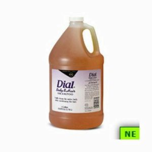 Dial Body & Hair Shampoo, 4 1-gal Bottle, Gender-Neutral Peach (SHR-DIA03986)