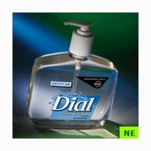 Dial Sensitive Skin Liquid Soap - 16 oz. Pump (SHR-DIA80784)