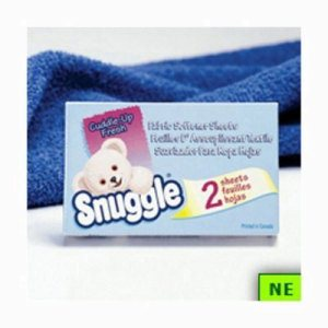 Snuggle Fabric Softener Sheets, 2 Sheet Vending Size 100 Packs (SHR-DRK2979929)