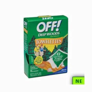 Deep Woods OFF!  Towelettes, 12 Packs (SHR-DRKCB549967)