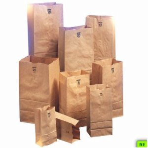 Duro 12# Kraft Husky Heavy Duty Bag, 500/cs, 50 lb. BW, 12#, (SHR-DUR81158)