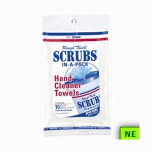 Dymon 42210 Scrubs In-A-Pack Hand Cleaner Wipes, 240 Wipes (SHR-DYM42210)
