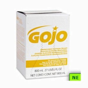 Gojo Enriched Lotion Hand Soap, 800-ml Refills (SHR-GOJ9102)