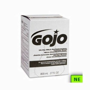 Gojo Ultra Mild Antimicrobial Lotion Hand Soap 800 ml Refills (SHR-GOJ9212)