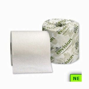 Envision Standard 1-Ply Toilet Paper Rolls, 80 Rolls (SHR-GPC14580)