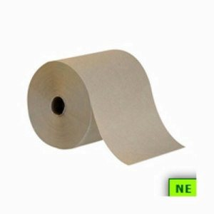 Envision Natural Roll Towels, Brown, 6 Rolls (SHR-GPC26301)