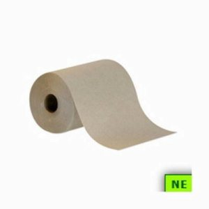 Envision 350 ft Brown Hard Roll Towels, 12 Rolls (SHR-GPC26401)