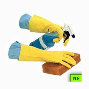 Impact Flock Lined Latex Gloves (SHR-IMP8440M)