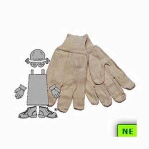 Safety Zone Cotton Canvas Gloves (SHR-PCGC10MN5C)