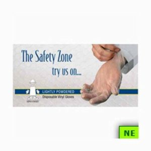 Safety Zone Vinyl Disposable Gloves (SHR-PCVPS)