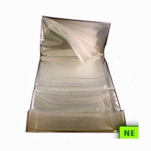 13 to 16 Gallon Clear Garbage Bags 24x33 1.0 Mil 500 per Case  (SHR-TRNC2433)