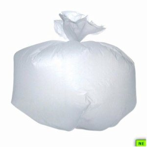 16 Gallon Clear Trash Bags, 24x33, 8mic, 1000 Bags (ADVC243308C)