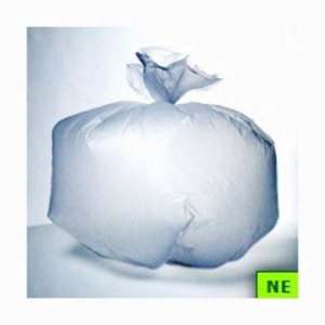 60 Gallon Clear Trash Bags, 38x60, 14mic, 200 Bags (SHR-ADVC386014C)