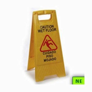 Bi-Lingual Wet Floor Sign (SHR-PC75360210)