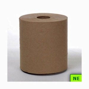 Kraft Hard Wound Roll Towels, 12 Rolls (SHR-PSC12610)